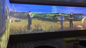 film vidéo pour exposition